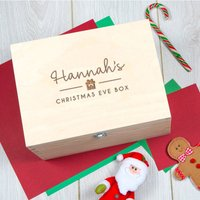 Personalised Christmas Eve Box For Teen Or Adult