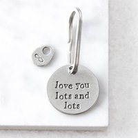 'Love You Lots And Lots' Keyring