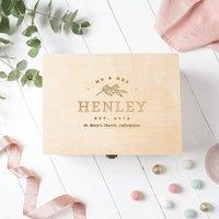 Personalised Wedding Keepsake Box Gift