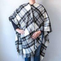 Merino Lambswool Tartan Ruanas/Blanket Scarves