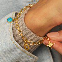 18ct Gold Vermeil Choose Your Own Charm Bracelet, Gold