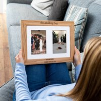 Personalised Our Wedding Day Multi Photo Frame