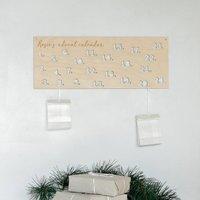 Personalised Wooden Diy Advent Calendar