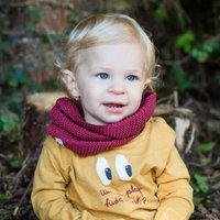 Fine Knit Cotton Snood For For Babies And Toddlers