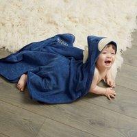 Personalised Moose Hooded Towel