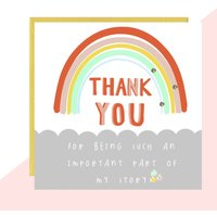 'Thank You' Story Card