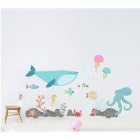 Children's Under The Sea Wall Sticker Set