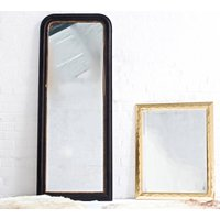 Gold Edged Full Length Vintage Mirror