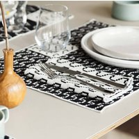 Areaware Set Of Four Bitmap Textiles Placemats