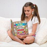 Personalised 7th Birthday Children's Book