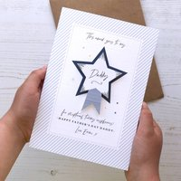 Personalised Fathers Day Award Card