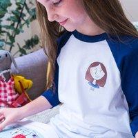 Personalised Portrait Childrens Tshirt