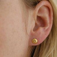 Raw Diamond Grey Stud Earrings