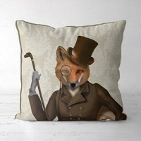 Fox Bounder Decorative Cushion