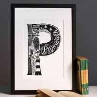 Plymouth Print