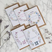New Baby Card Set