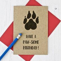 Dog Lovers Birthday Card