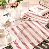 Summer Barbecue Table Cover, Placemats And Napkins