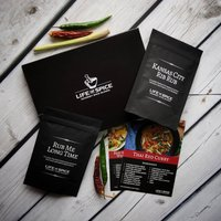 Gourmet Rubs And Spice Letterbox Gift With Recipe Cards
