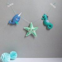 Sea Garland For The Nursery
