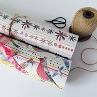 Female Wrapping Paper Any Occasion Three Sheets