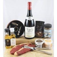 A Bit Of Romance Steak And Wine Box