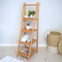 Wooden Shelving Ladder