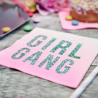 Girl Gang Pink Party Napkins