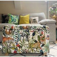 Chlidren's Blanket Box In Jungle Print