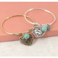 Stacking Love Charm Bracelet