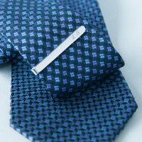 Corporate Personalised Sterling Silver Tie Clip