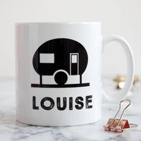 Personalised Mug For Caravan Lover