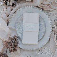 Wedding Napkin Placename Wraps