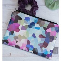 Berry Handmade Faux Leather Pouch
