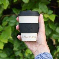 Personalised 'Choose To Reuse' Reusable Travel Mug