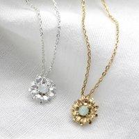 Crystal Daisy Necklace