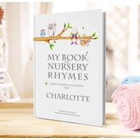 Nursery Rhymes And Personalised Poems Book