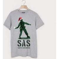 Sas Santa's Air Service Men's Christmas T Shirt