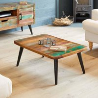 Dunes Boat Wood Coffee Table