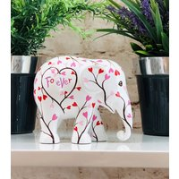 Love Forever Hand Painted Elephant Parade