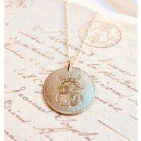 9ct Gold Heraldic Blason Pendant, Gold