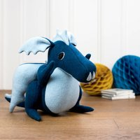 Dragon Soft Toy Large Handmade And Personalised