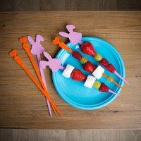 Healthy Eating Fruit Skewers For Children's Parties