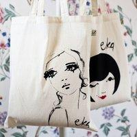 Organic Cotton Shopper Bag For Life