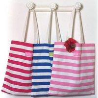 Regatta Stripe Shopper Bag, Blue