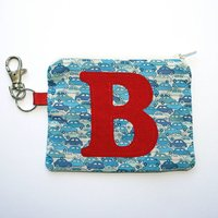 Personalised Liberty Cars Purse Gift For Boy, Blue