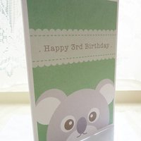 Personalised Koala Birthday Card
