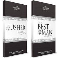 Wedding Chocolate Bars - For The Boys