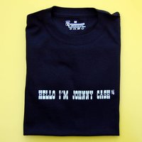 Johnny Cash Adult T Shirt