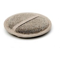Natural Linen Flax Spa Cleansing Pad, Black/Cream